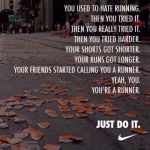 When did I become a runner? I do not own this image.