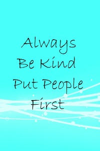 Always Be Kind: People First Language
