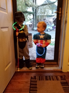Batman & Captain Prepare