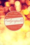 Part 1 30 days of thankfulness